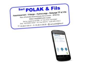La SARL Polak & Fils choisit la solution Facilitime pour la gestion de ses tournées